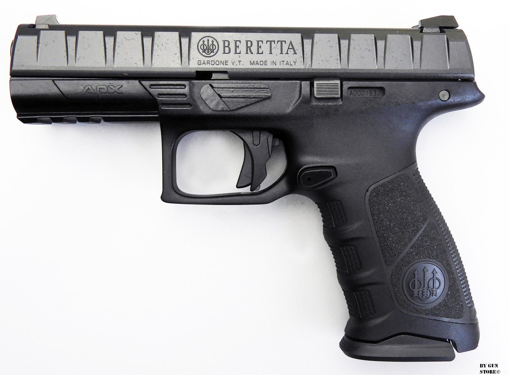 Gun Store Bunker Ego Sum Bellum Pistola Beretta Mod Apx Cal