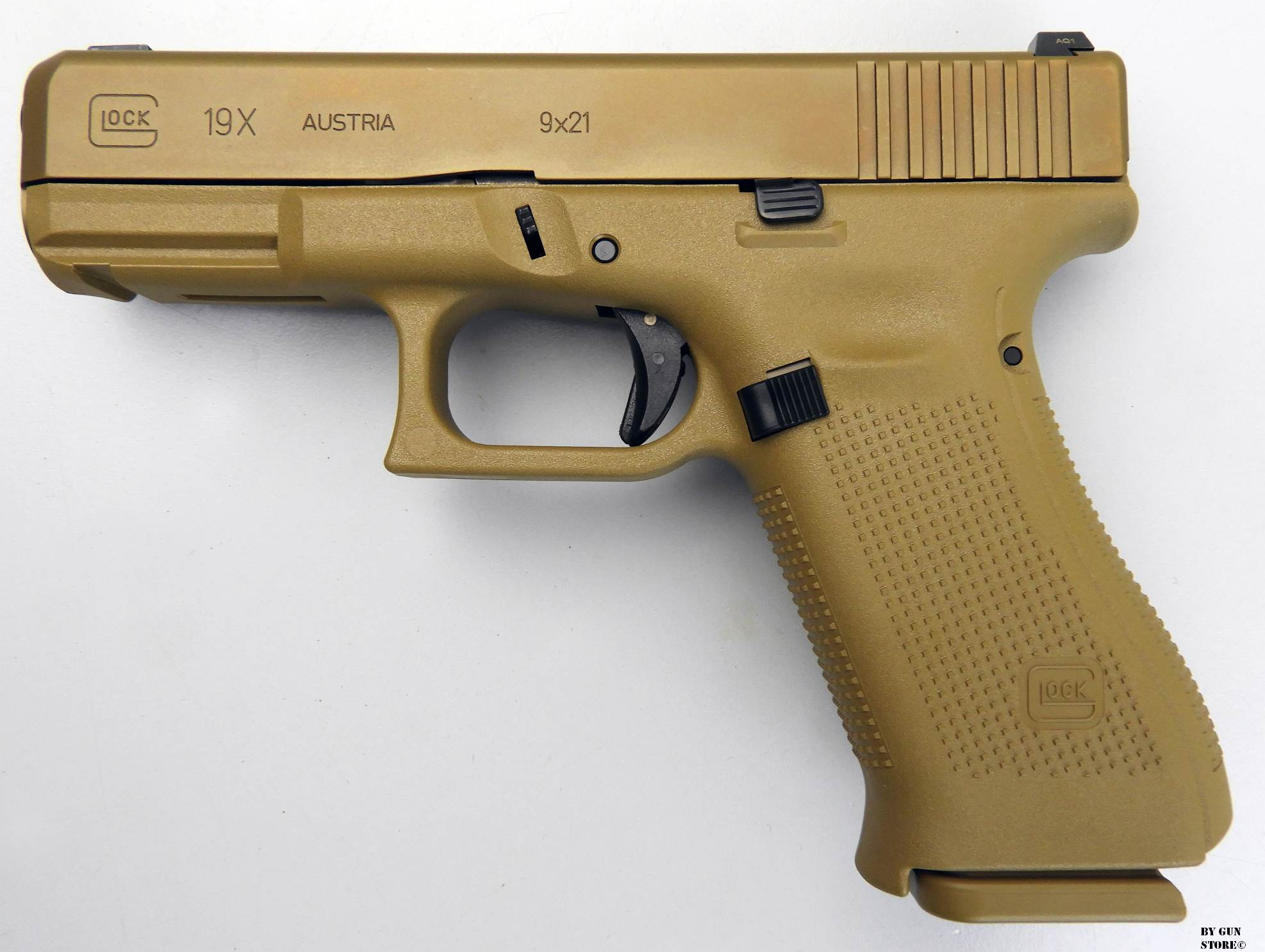 Gun Store Bunker Ego Sum Bellum Pistola Glock Mod 19 X Cal
