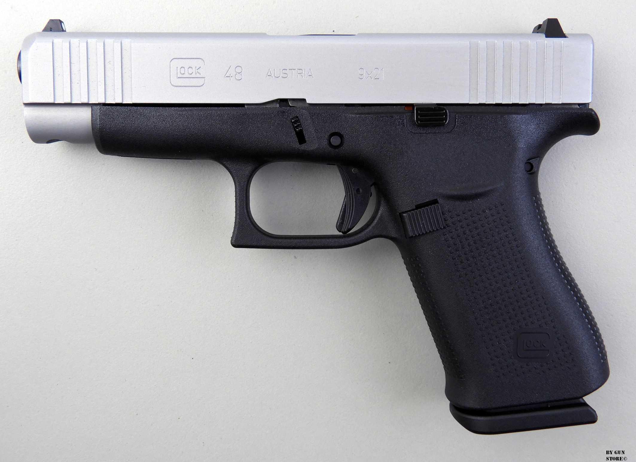 Gun Store Bunker Ego Sum Bellum Pistola Glock Mod 48 Cal 9x21